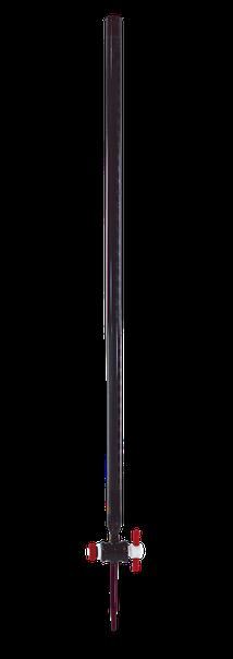 Bureta recta RAY-SORB clase B con llave de PTFE 17033F-50