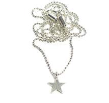 Feine Sternkette Dein perfekter Solo-Star an Deinem Hals ! ★ zarte Kette mit kleinem Stern aus 925 Sterlingsilber