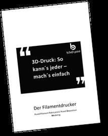 Ebook: 3D-Druck: So kann´s jeder - mach´s einfach (Der Filamentdrucker FFF/ FDM)