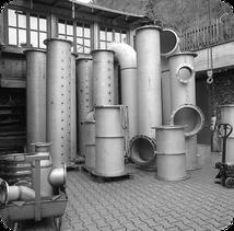Rohrleitungsteile in DN 600 für Trinkwasserbehälter