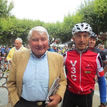 """Rémi avec la """"légende"""" du cyclisme Français"""