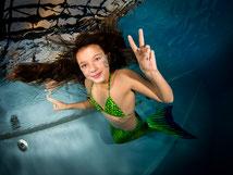 Meerjungfrauen-Bikinis Bubble Swim Meerjungfrauen-Schwimmschule Schweiz