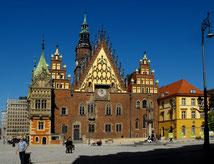 ポーランド、ヴロツワフ旧市庁舎