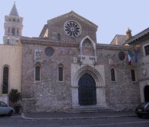 Tivoli - La chiesa di S.Maria Maggiore