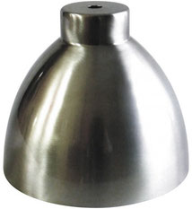 paralume #vintage #stile industriale #lampada #acciaio #opaco #campana #pub #birreria