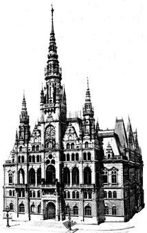 Rathaus in Reichenberg