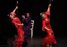 Auftritt Flamenco & Folkloregruppe Ibérico bei der Jubiläumsfeier 2011 im Tanzstudio La Fragua in Bonn /Colorfoto by Boris de Bonn