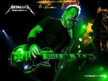 Metallicaのギター、ヴォーカルのジェームズさん。理想的な大人です。