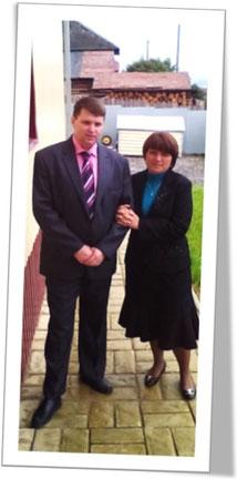 Андрей и Ирина Селезневы, попытавшиеся «проникнуть» ко мне с пастырским посещением