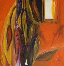Fenster Orange Pflanzen Traum Süden