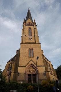 Saarbrücker Str. 286, ev. Christuskirche, Architekt Carl Schäfer, 1880-82