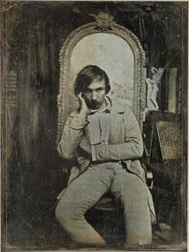 Baudelaire hacia 1850.
