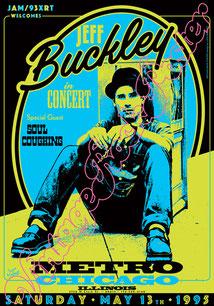 #jeffbuckley#buckleyposter#buckleyconcert#jeffbuckleychicago#metrochicago