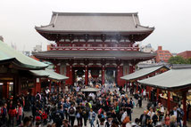 Sensō-ji Schrein, Asakusa Schrein, Japan, Tokio, Tempel