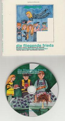 die fliegende frieda [CD] Elfriede Gerstl (In Schulbuchliste aufgenommen • Pasticcio Preisträger)