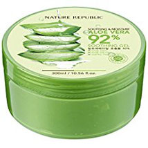 Nature Republic Natural Republic Aloe Vera Gel, 300ml, 10.56 Fluid Ounce
