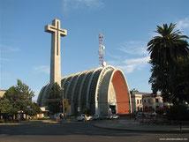 La cathédrale de Chillán