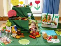 Grundschule Ziegelhütten, Projekttage gesunde Ernährung, AOK Bayern, Fotos: Peter Dorsch