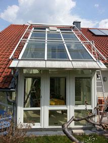 Glasflächen reinigen in Frankfurt