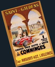 XIVº Grand Prix du Comminges 1948