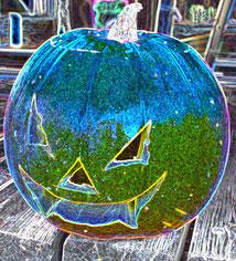 15 Leuchtender Kürbis/Luminous pumpkin