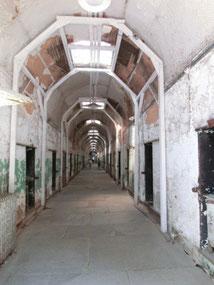 Zelltrakt in der Penitentiary