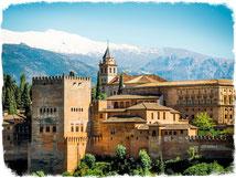 мавританская Испания, мусульманское прошлое Испании, испанские мавры, мавританские крепости, Алямбра, Гранада, Севилья