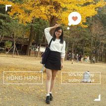 Hạnh - sv GSC tại trường đại học ngoại ngữ Hàn Quốc - HUFS