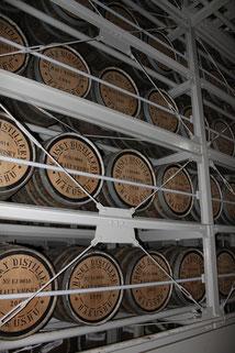 ウィスキー貯蔵庫