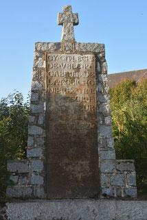 Photo - Pierre tombale de Gabriel de la Robichonnière