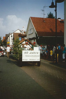 Umzug Bürgerfest Walldorf 40 Jahre Ortsgruppe