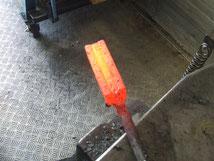Damaszener Stahl Herstellung