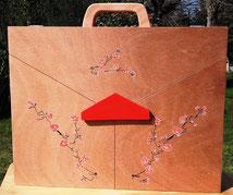 Théatre japonais ambulant en bois