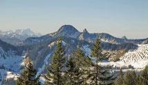Taubenstein -  im Winter Ausgangspunkt für zahlreiche Skitouren im Spitzingsgebiet
