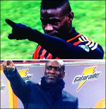Balotelli dédie son but à Seedorf