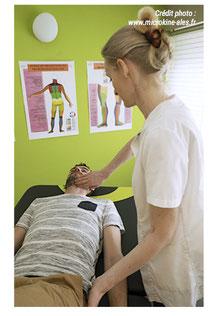 Déroulement séance Microkinésithérapie