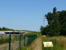 Les zones abandonnées côté Jouy