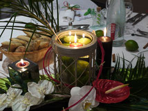decoration mariage des iles