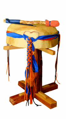 Spiritual Truth in the Wind Horse Lightning Drum