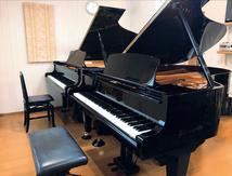 グランドピアノ二台による充実したレッスン