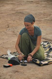 Silke Taute, Wüstenreise Marokko, Yogastudio Raum der Achtsamkeit in Rupperswil bei Aarau