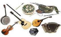 アイルランド音楽 楽器