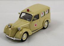 Ambulance Croix rouge Fiat 1/43 Brumm