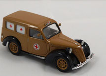 Ambulance Fiat Bergame 1/43 Brumm