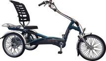 Van Raam Easy Rider 2 Dreirad und Elektro-Dreirad für Erwachsene - Sessel-Dreirad 2017