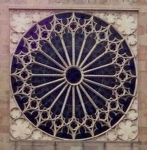 Fensterrose, Zisterzienserabtei Ebrach