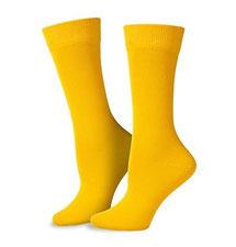 Herrensocken gelb
