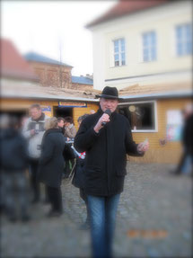 Angermünder Gänsemarkt, Moderator Angermünde, Bernd Winkler Kerkow Angermünde