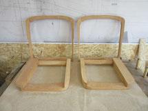 Sitzgestell EMW 327 Cabriolet