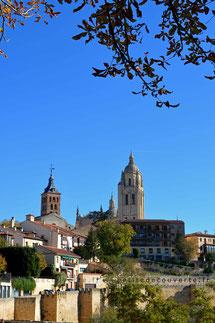 Cathédrale de Ségovie, Catedral de Segovia, Balade, espagne